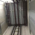 Installation von Aufzuganlagen
